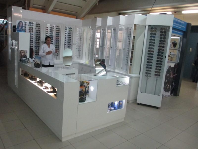 módulo óptica mall  Puerto Montt